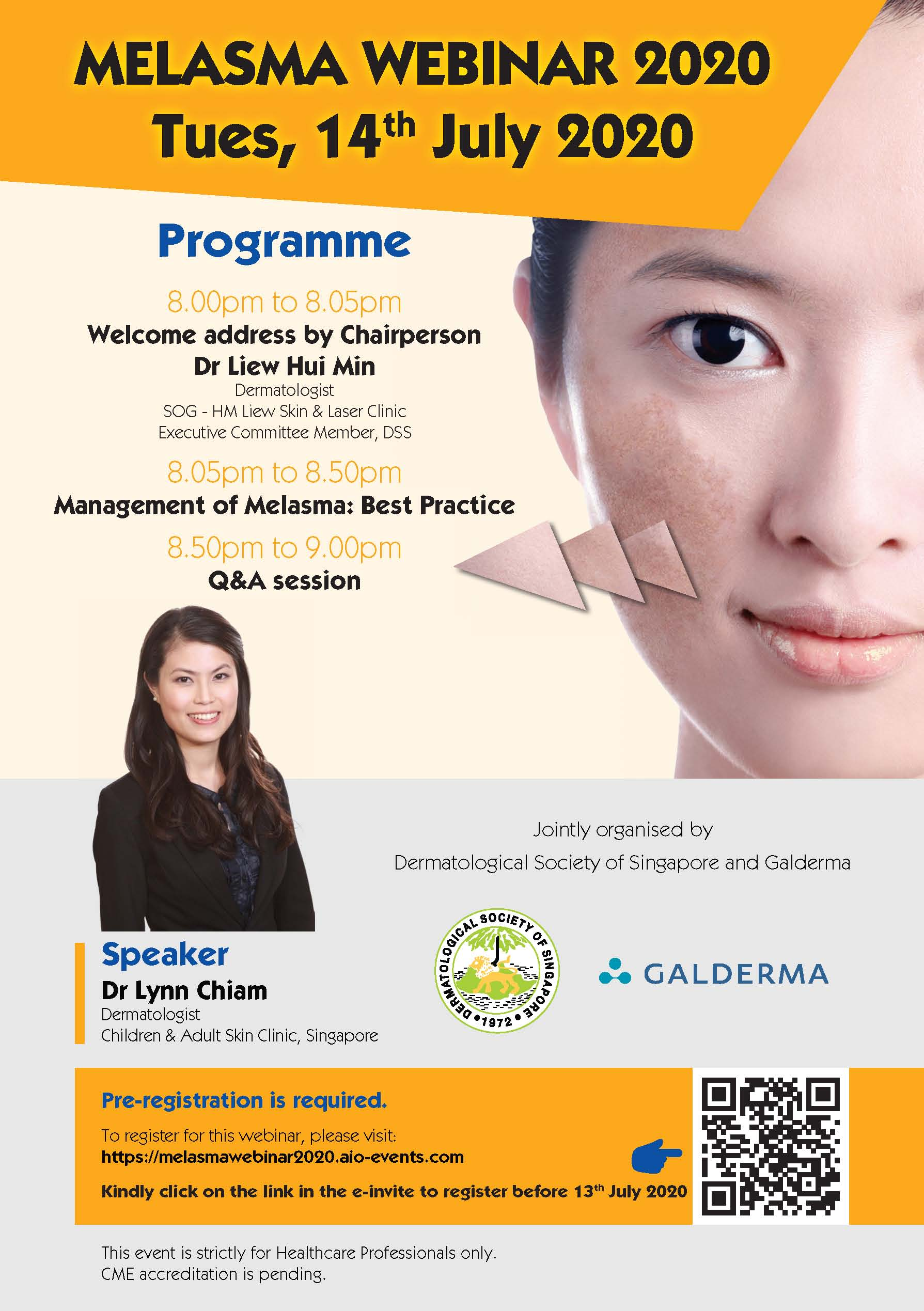 Management of Melasma: Best Practice @ Virtual