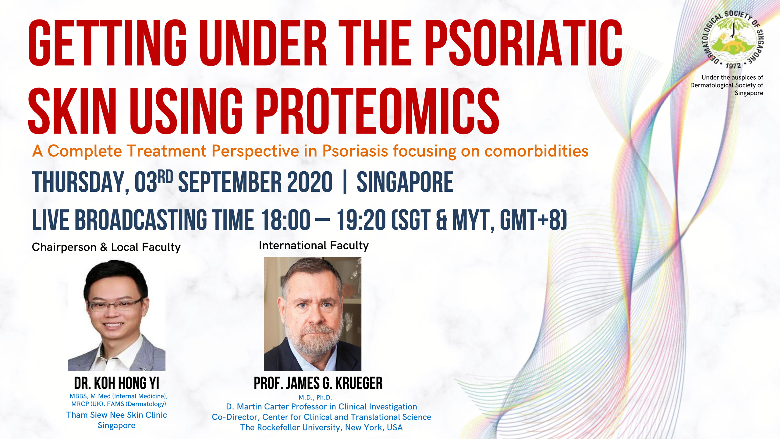 Getting Under the Psoriatic Skin Using Proteomics @ Virtual